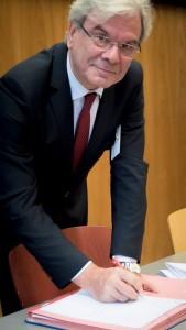 Me Edmond Jacoby, Vice-président du Conseil supérieur du notariat