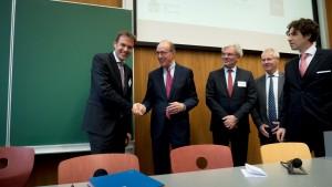 Dr. Jens Bormann, Präsident der Bundesnotarkammer und Claude Witz